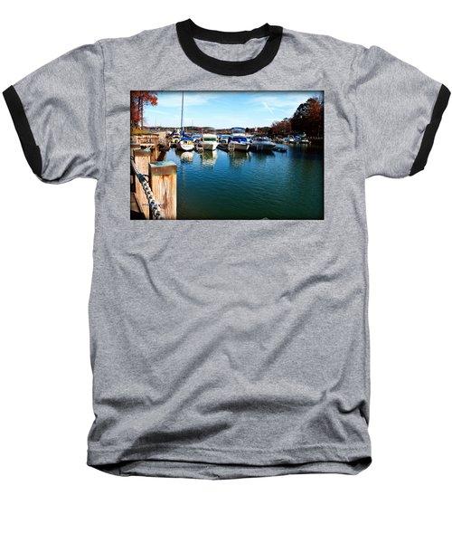 Pier Pressure - Lake Norman Baseball T-Shirt