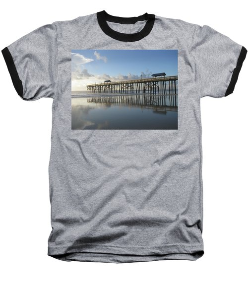 Pier Reflection Baseball T-Shirt