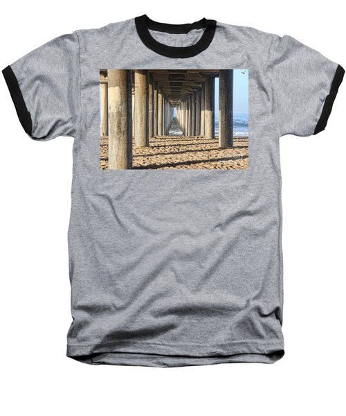 Baseball T-Shirt featuring the photograph Pier by Tammy Espino