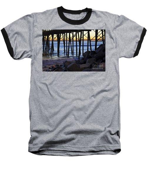 Pier Through  Baseball T-Shirt