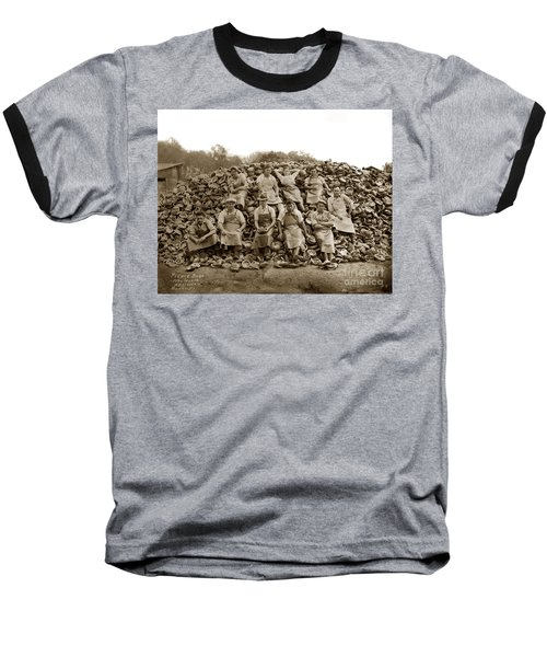 Pierce Brothers Abalone Morro Bay Circa 1925 Baseball T-Shirt