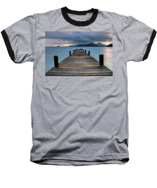 Piering Rain Baseball T-Shirt