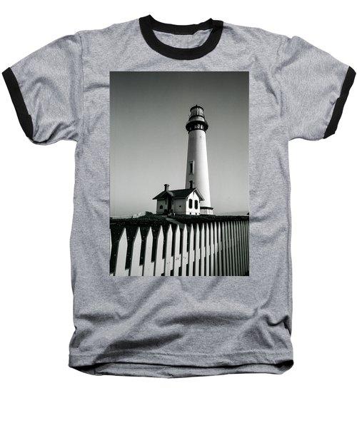Pigeon Point Lighthouse Baseball T-Shirt