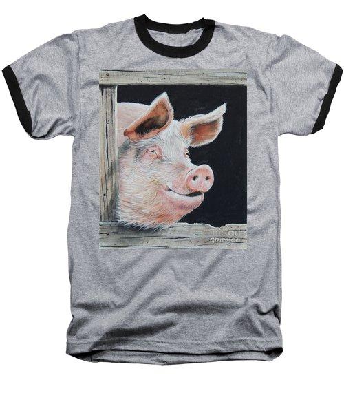 Piggy.  Sold  Baseball T-Shirt