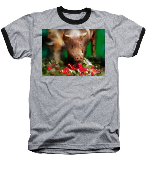 Pigs Baseball T-Shirt