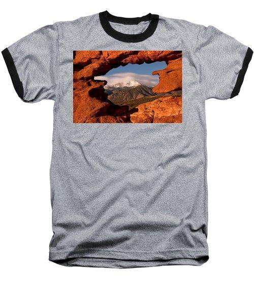 Pikes Peak Framed Baseball T-Shirt