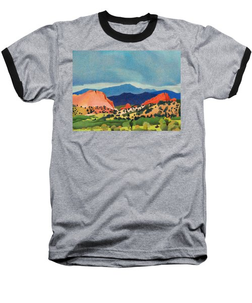 Garden Of The Gods Pikes Peak Baseball T-Shirt