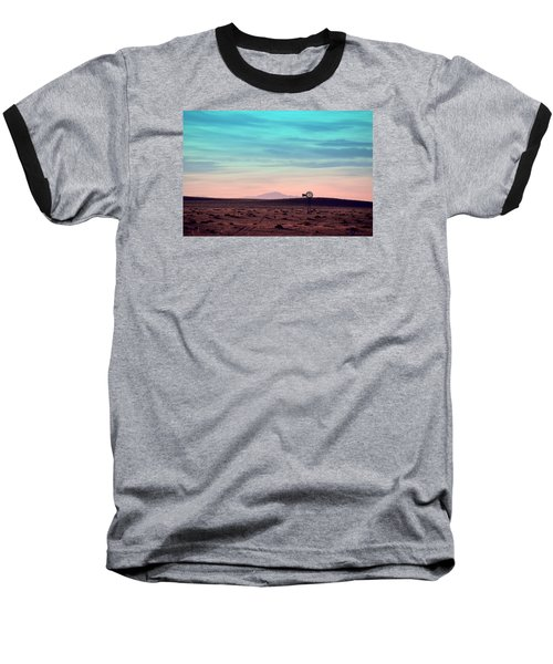 Pikes Peak To Prairie Baseball T-Shirt by Clarice  Lakota