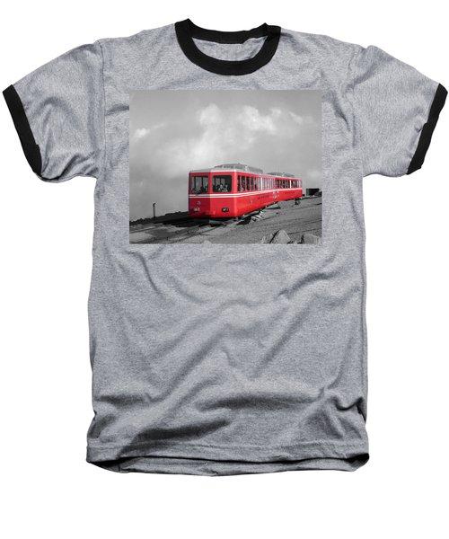 Pikes Peak Train Baseball T-Shirt