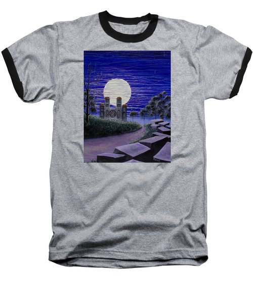 Pilgrimage Baseball T-Shirt by Jack Malloch