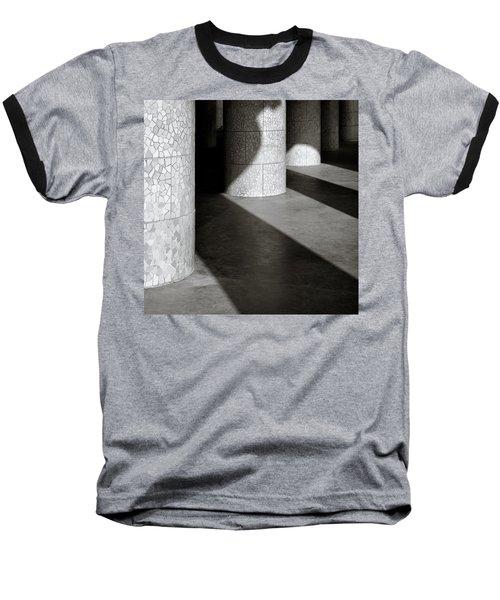 Pillars And Shadow Baseball T-Shirt