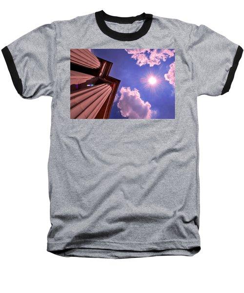 Baseball T-Shirt featuring the photograph Pillars In The Sun by Matt Harang