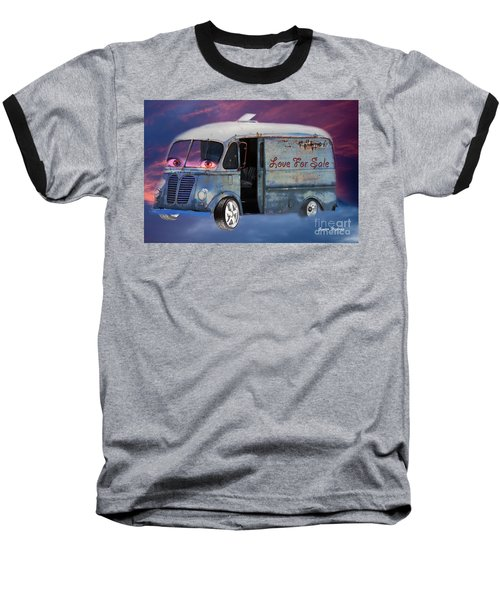 Pin Up Cars - #2 Baseball T-Shirt