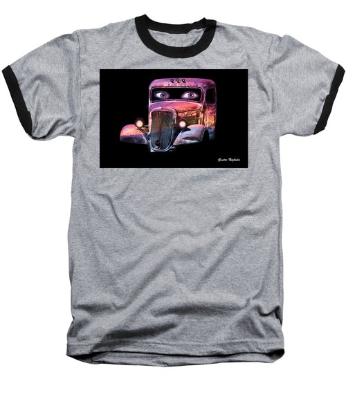 Pin Up Cars - #3 Baseball T-Shirt