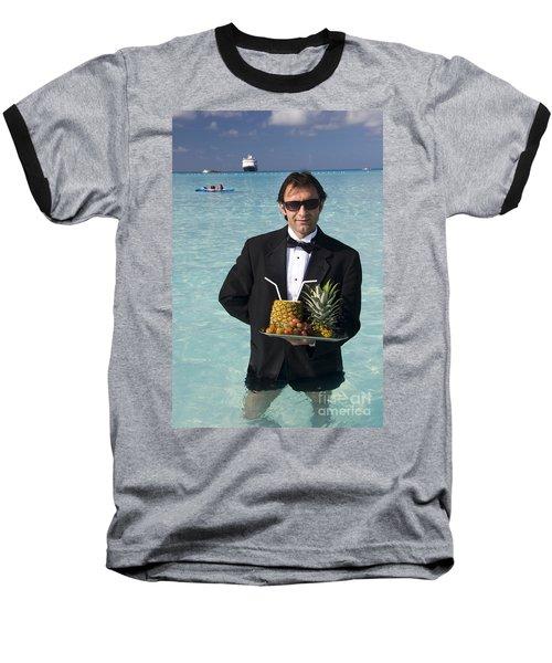Pina Colada Anyone Baseball T-Shirt