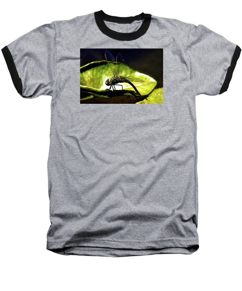 Baseball T-Shirt featuring the photograph Pinao The Hawaiian Dragonfly by Lehua Pekelo-Stearns