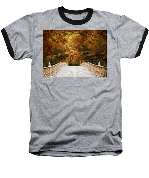 Pine Bank Autumn Baseball T-Shirt