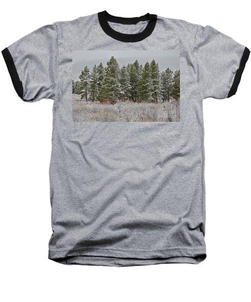 Pine Flurries Baseball T-Shirt
