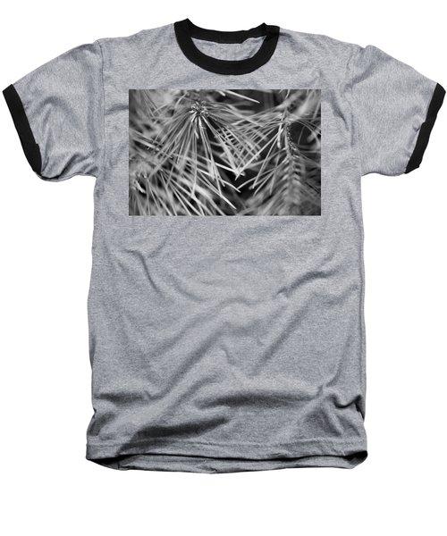 Pine Needle Abstract Baseball T-Shirt