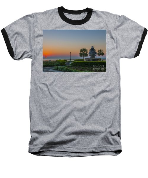 Baseball T-Shirt featuring the photograph Dawns Light by Dale Powell