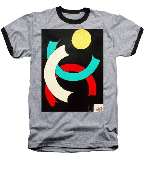Pineapple Moon Baseball T-Shirt