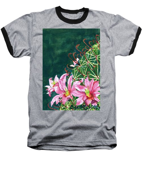 Pink Beauty Baseball T-Shirt