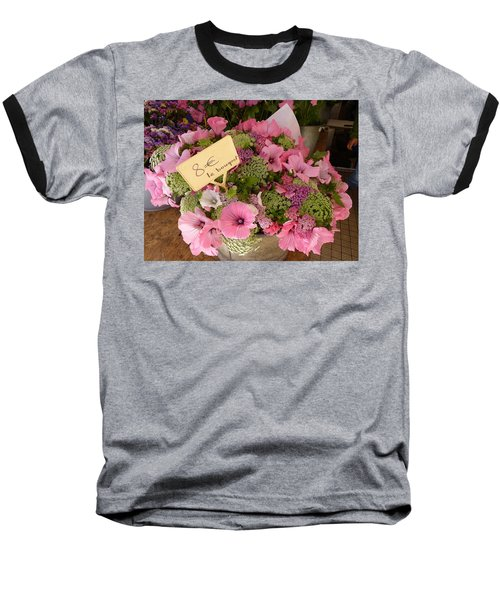 Baseball T-Shirt featuring the photograph Pink Bouquet by Carla Parris