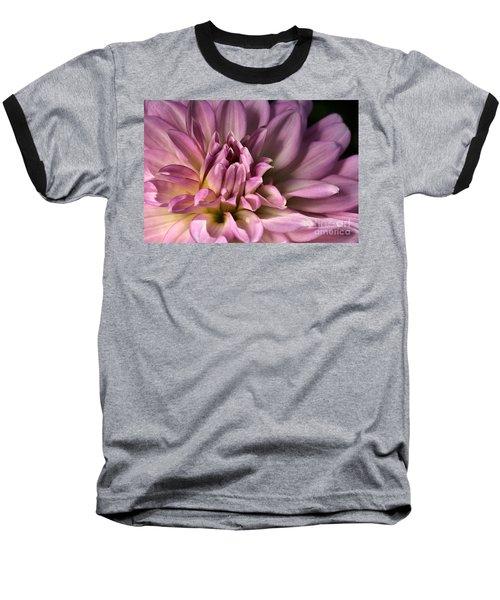 Pink Dahlia's Dream Baseball T-Shirt