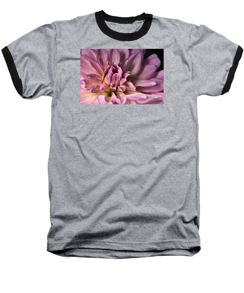 Pink Dahlia's Dream Baseball T-Shirt