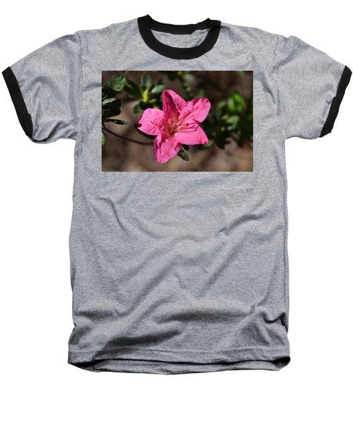 Baseball T-Shirt featuring the photograph Pink Flower by Tara Potts