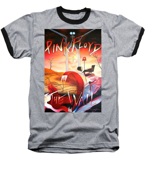 Pink Floyd The Wall Baseball T-Shirt