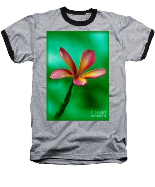 Pink Jasmin Baseball T-Shirt