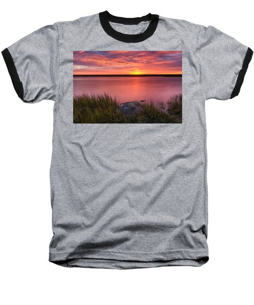 Pink Marsh Baseball T-Shirt
