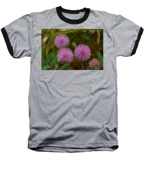 Pink Mimosa Baseball T-Shirt