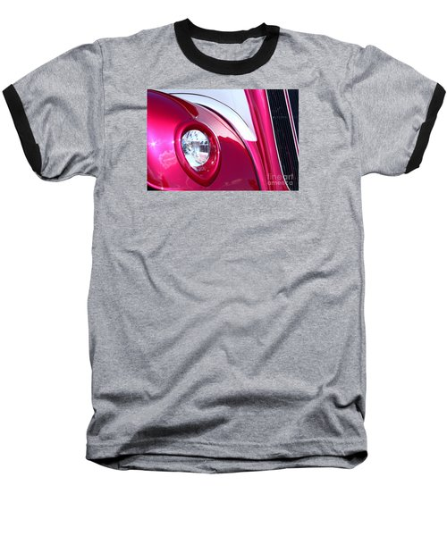 Baseball T-Shirt featuring the photograph Pink Passion by Linda Bianic