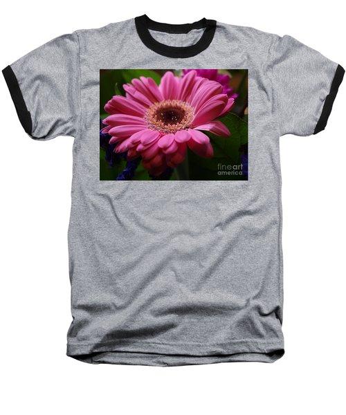 Pink Petal Explosion Baseball T-Shirt