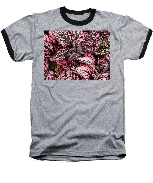 Pink - Plant - Petals Baseball T-Shirt