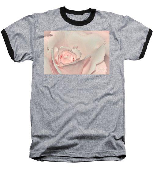 Pink Satin Baseball T-Shirt