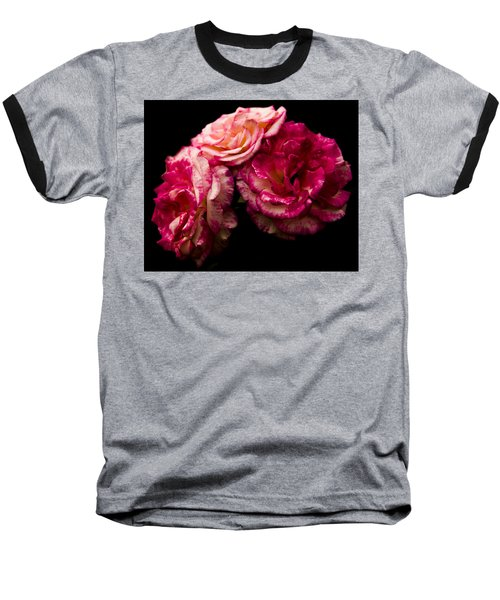 Pink Solitude Baseball T-Shirt