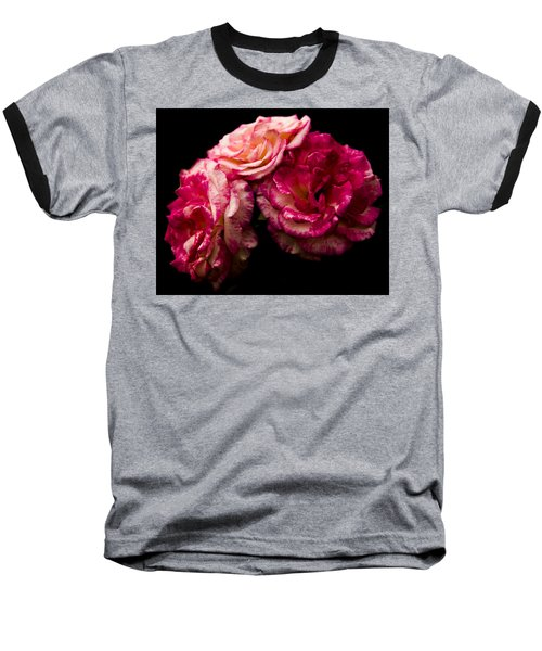 Baseball T-Shirt featuring the photograph Pink Solitude by Theodore Jones
