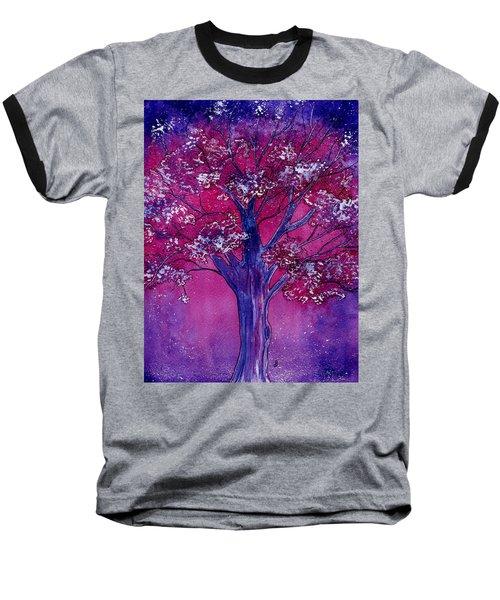 Pink Spring Awakening Baseball T-Shirt
