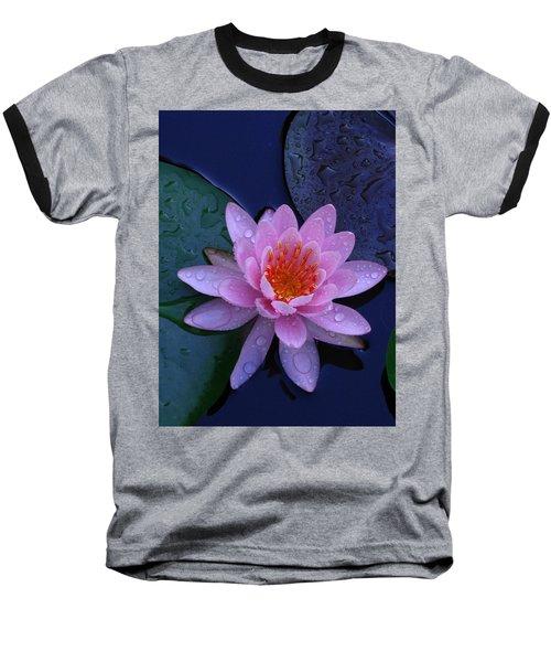 Baseball T-Shirt featuring the photograph Pink Waterlily by Raymond Salani III