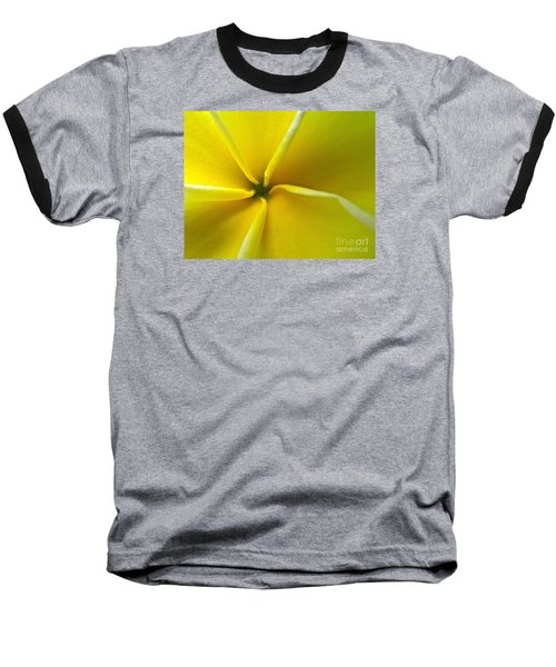 Pinwheel Plumeria Baseball T-Shirt