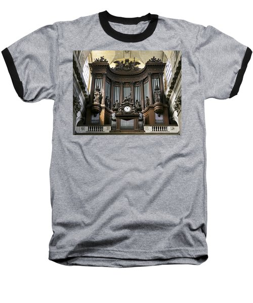 Pipe Organ In St Sulpice Baseball T-Shirt