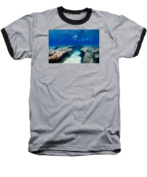 Pipeline's Hungry Reef Baseball T-Shirt