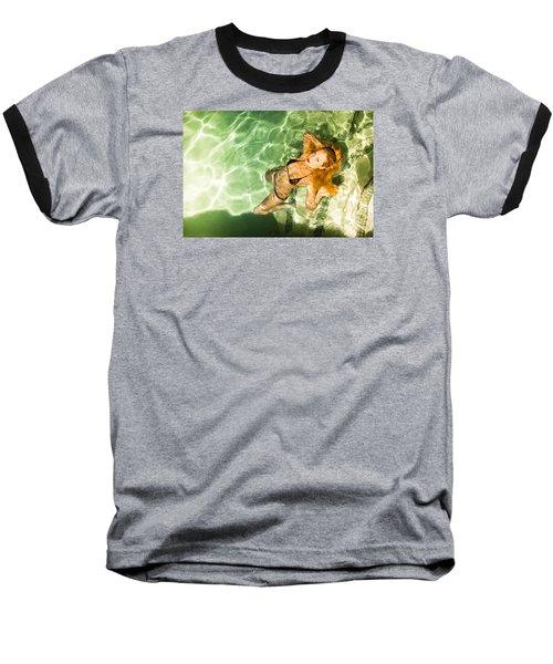 Wet Piper Precious No73-5824 Baseball T-Shirt by Amyn Nasser
