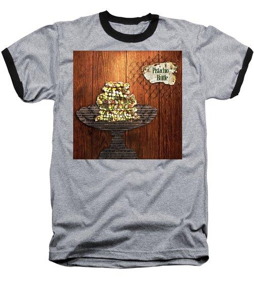 Pistachio Brittle Baseball T-Shirt