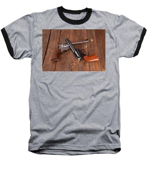 Pistols Baseball T-Shirt