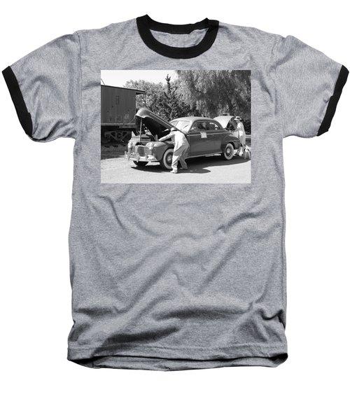 Pit Stop 1941 Baseball T-Shirt