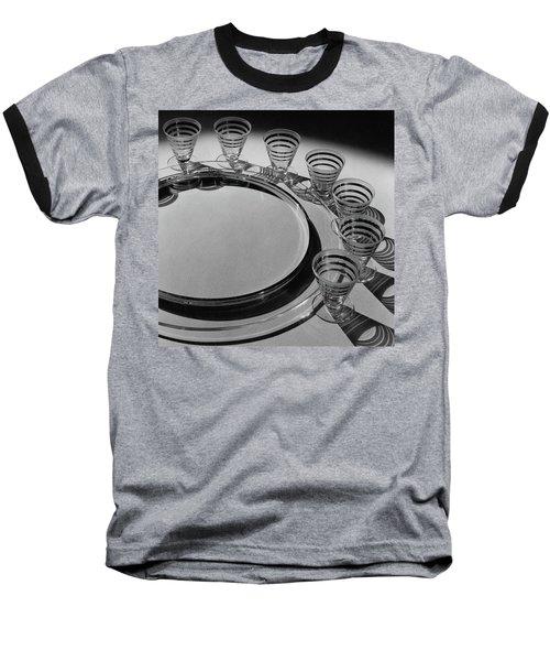 Pitt Petri Tableware Baseball T-Shirt